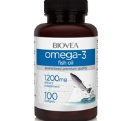 BIOVEA Omega-3 Fish Oil 1200 мг 100 гелевых капсул