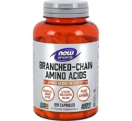 Branched Chain Amino Acids (120 капс.) от NOW